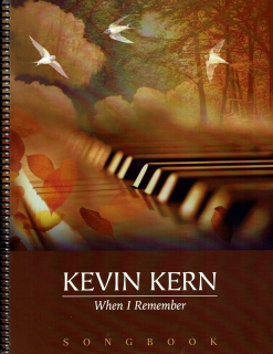 Cover image of the songbook When I Remember by Kevin Kern
