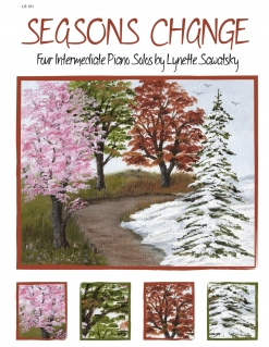 Cover image of the songbook Seasons Change by Lynette Sawatsky