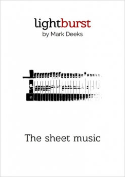 Cover image of the songbook Lightburst by Mark Deeks
