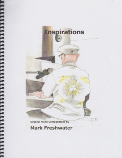 Cover image of the songbook Inspirations by Mark Freshwater