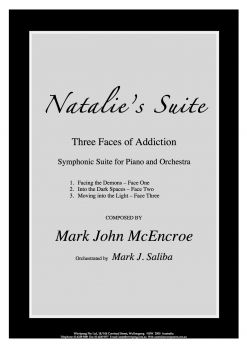 Cover image of the songbook Natalie's Suite - Conductor's Score by Mark John McEncroe