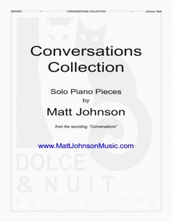 Cover image of the songbook Conversations Collection by Matt Johnson