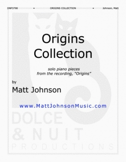 Cover image of the songbook Origins Collection by Matt Johnson