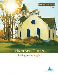Cover image of the songbook Living in the Light by Michael Dulin
