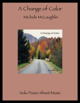 Cover image of the songbook A Change of Color by Michele McLaughlin