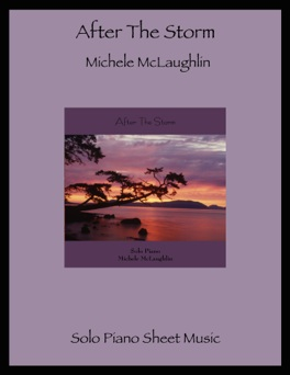 Cover image of the songbook After the Storm by Michele McLaughlin