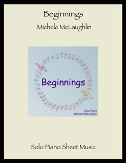 Cover image of the songbook Beginnings by Michele McLaughlin