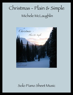 Cover image of the songbook Christmas - Plain & Simple by Michele McLaughlin
