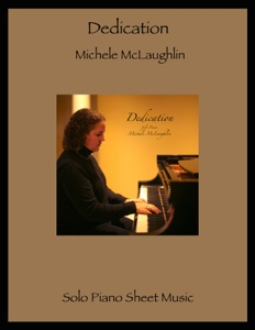 Cover image of the songbook Dedication by Michele McLaughlin