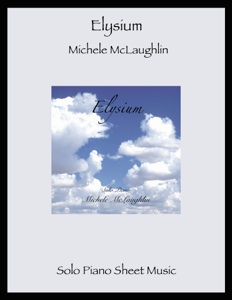 Cover image of the songbook Elysium by Michele McLaughlin