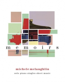 Cover image of the songbook Memoirs by Michele McLaughlin