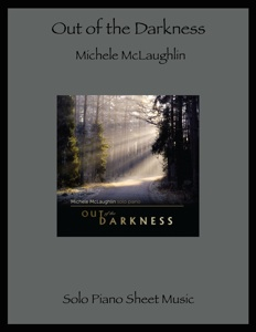 Cover image of the songbook Out of the Darkness by Michele McLaughlin
