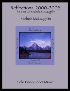 Cover image of the songbook Reflections by Michele McLaughlin