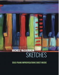 Cover image of the songbook Sketches by Michele McLaughlin