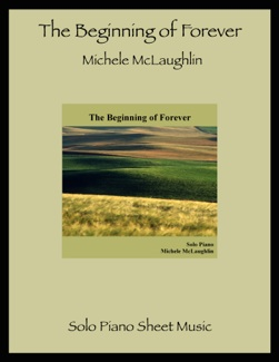 Cover image of the songbook The Beginning of Forever by Michele McLaughlin