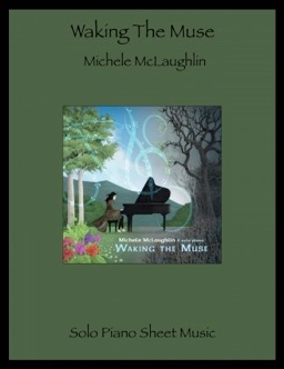 Cover image of the songbook Waking the Muse by Michele McLaughlin