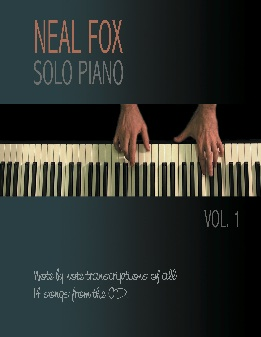 Cover image of the songbook Solo Piano, Volume 1 by Neal Fox