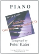 Cover image of the songbook Piano by Peter Kater
