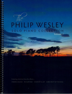 Cover image of the songbook Solo Piano Collection, Volume 2 by Philip Wesley
