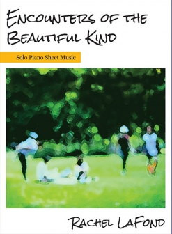 Cover image of the songbook Encounters of the Beautiful Kind by Rachel LaFond
