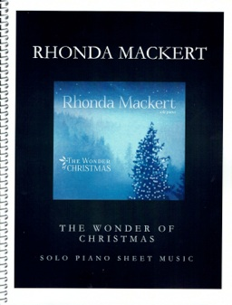 Cover image of the songbook The Wonder of Christmas by Rhonda Mackert