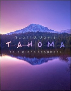 Cover image of the songbook Tahoma by Scott D. Davis