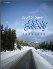 Cover image of the songbook Winter Journey by Scott D. Davis