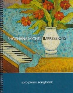Cover image of the songbook Impressions by Shoshana Michel