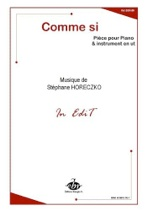 Cover image of the songbook More Sheet Music from Stephane Horeczko by Stephane Horeczko