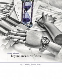 Cover image of the songbook Beyond Measures & Time by Steve Rivera
