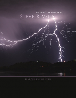 Cover image of the songbook Dividing the Darkness by Steve Rivera