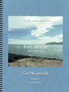 Cover image of the songbook Influence, Op. 3 by Tim Neumark