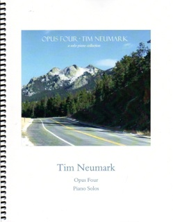 Cover image of the songbook Opus Four by Tim Neumark