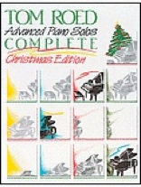 Cover image of the songbook Advanced Piano Solos, Complete Christmas Edition by Tom Roed