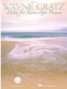 Cover image of the songbook Solos for New Age Piano by Wayne Gratz